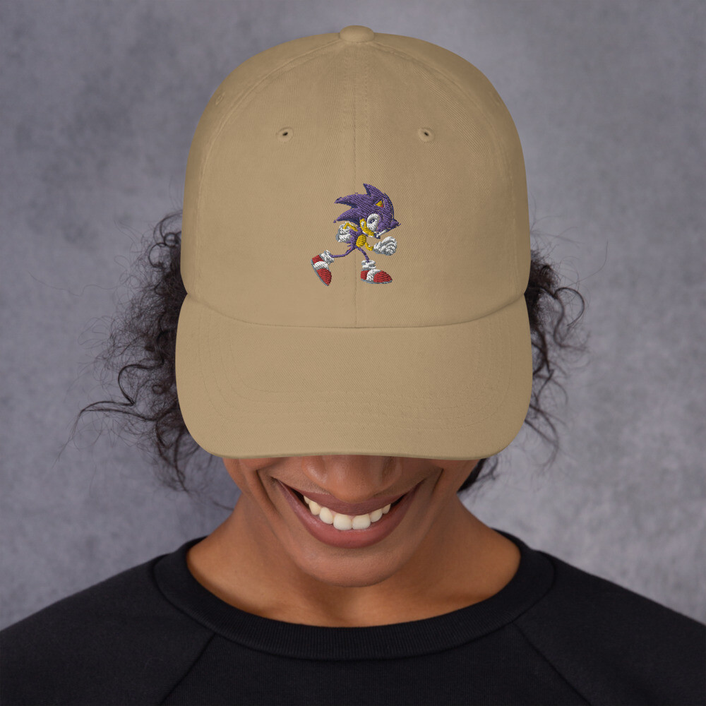 Sonic the hedgehog Dad hat Unisex
