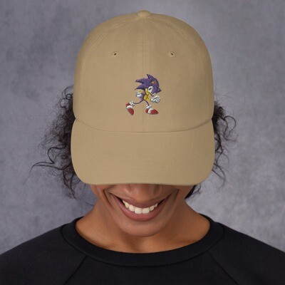 Sonic the hedgehog Dad hat Unisex