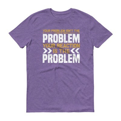 Your problem isn't the problem your reaction is the problem Short-Sleeve T-Shirt