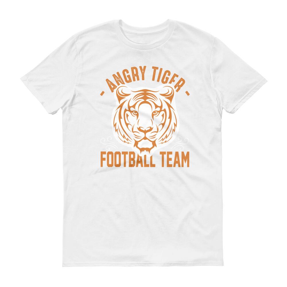 Angry tiger football team Short-Sleeve T-Shirt