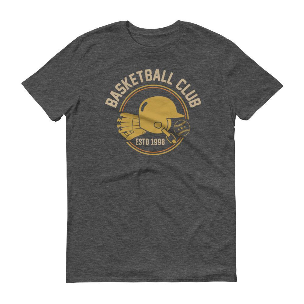Baseketball club Short-Sleeve T-Shirt