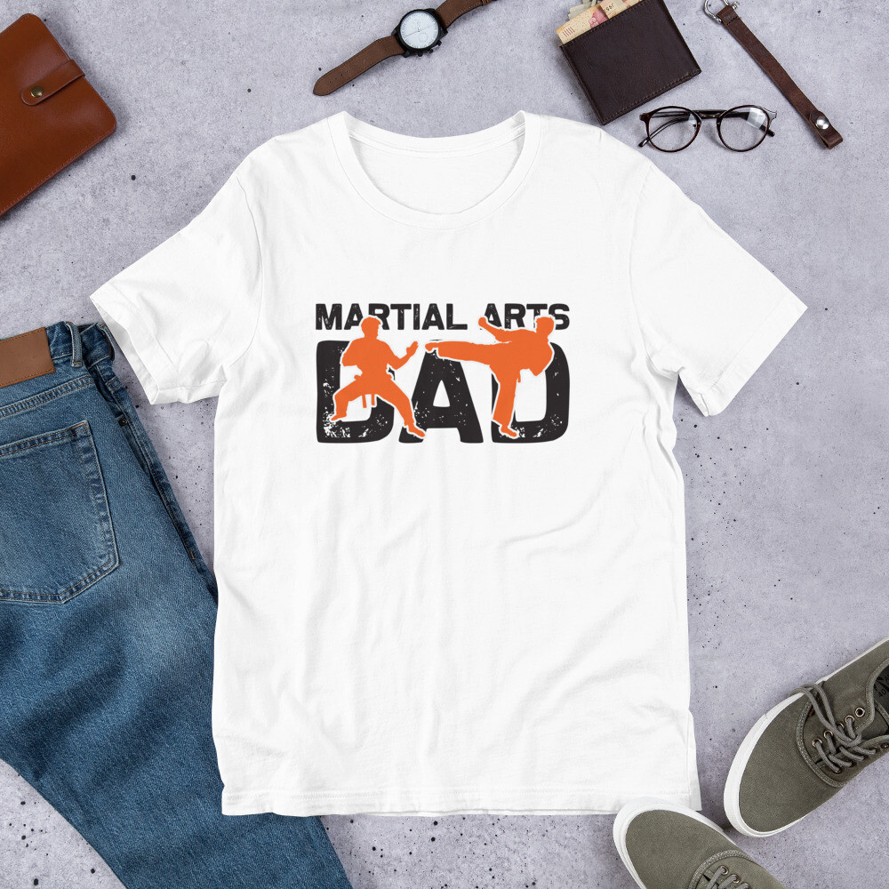 Martial arts dad Short-Sleeve Unisex T-Shirt
