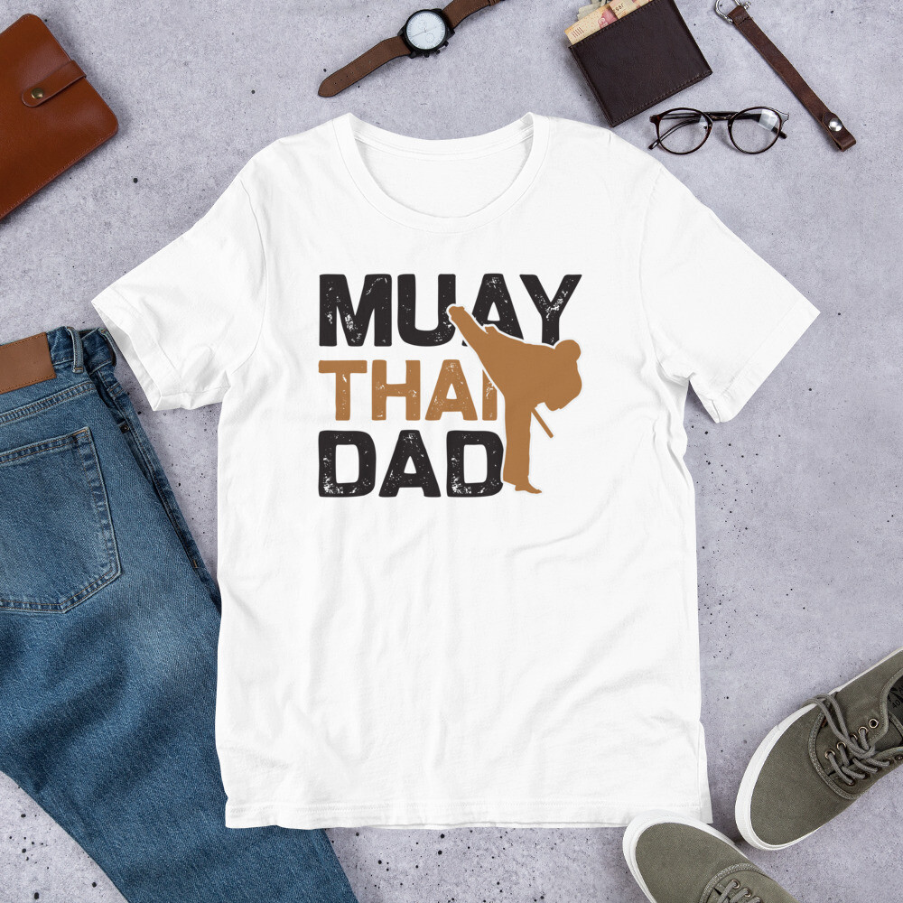 Muay Thai dad Short-Sleeve Unisex T-Shirt