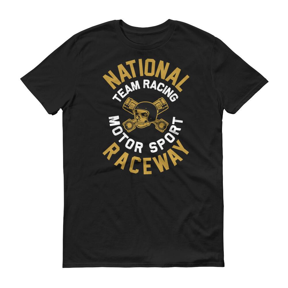 National team racing motor sport raceway Short-Sleeve T-Shirt