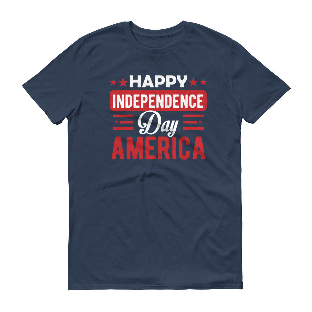 Happy independence day america 4th July Short-Sleeve Unisex T-Shirt