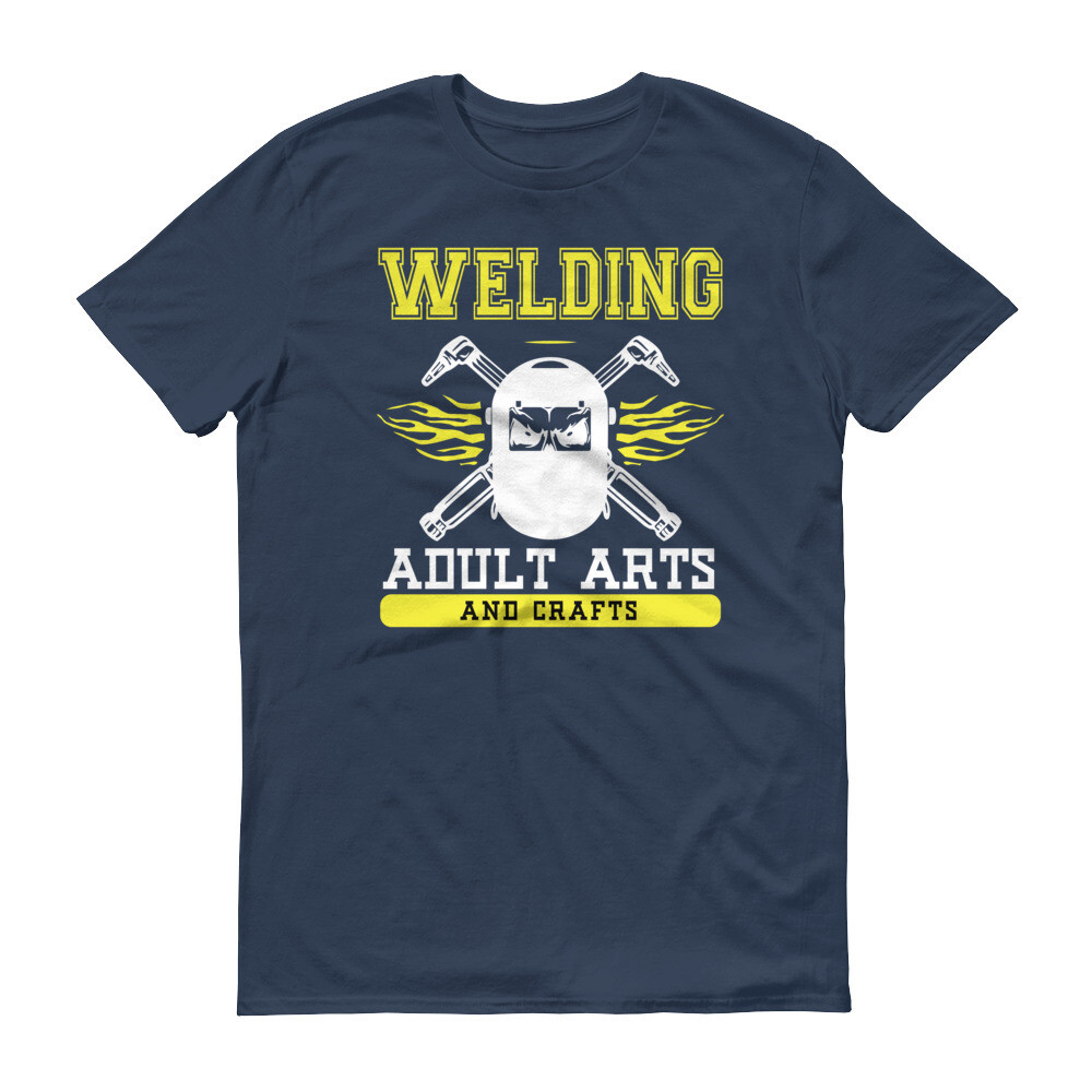 Welding adult arts and crafts Short-Sleeve T-Shirt