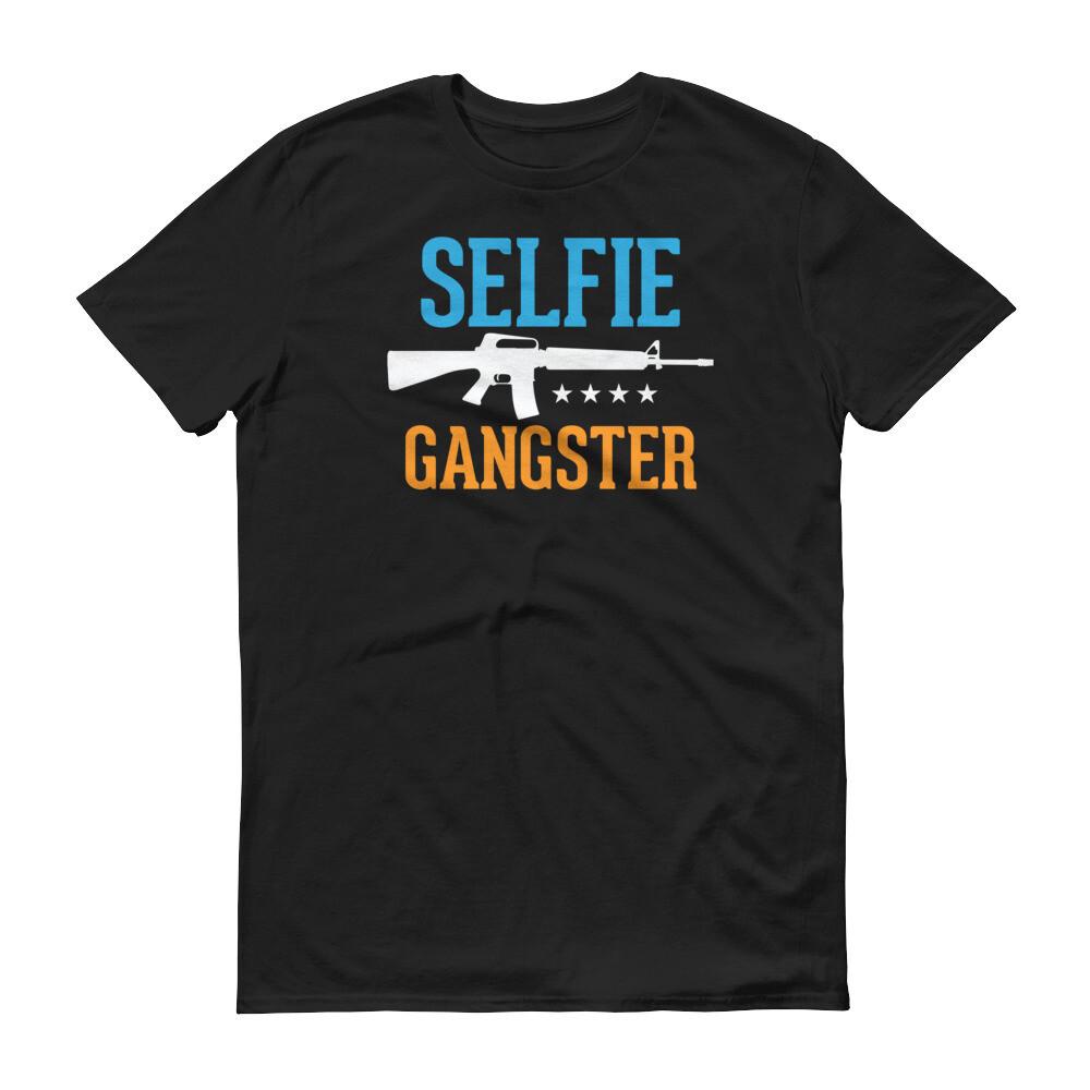 selfie ganster Short-Sleeve T-Shirt