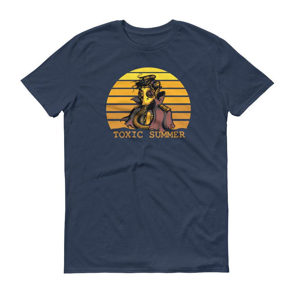 Vintage toxic summer man monster Short-Sleeve T-Shirt