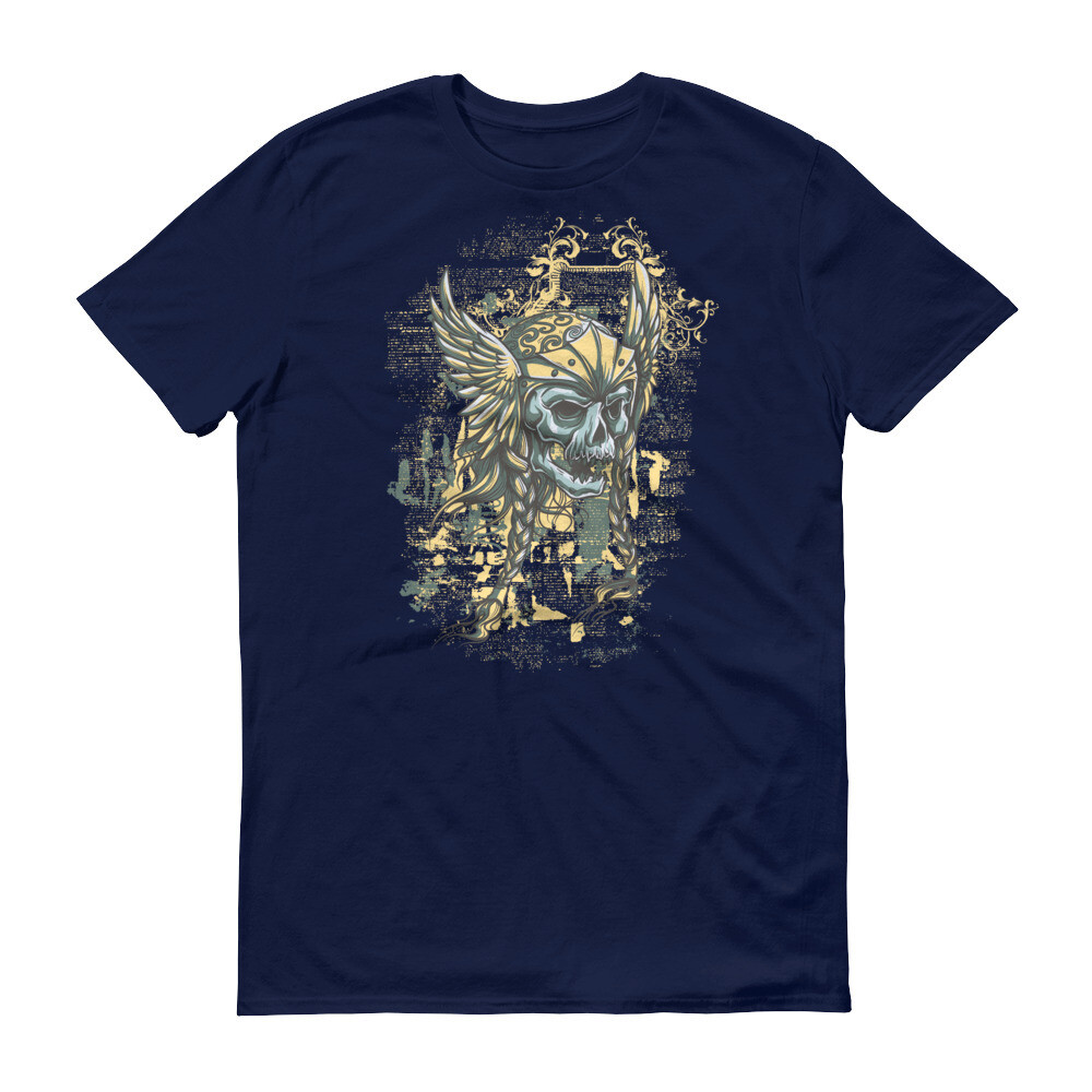 Wings of skull Short-Sleeve T-Shirt
