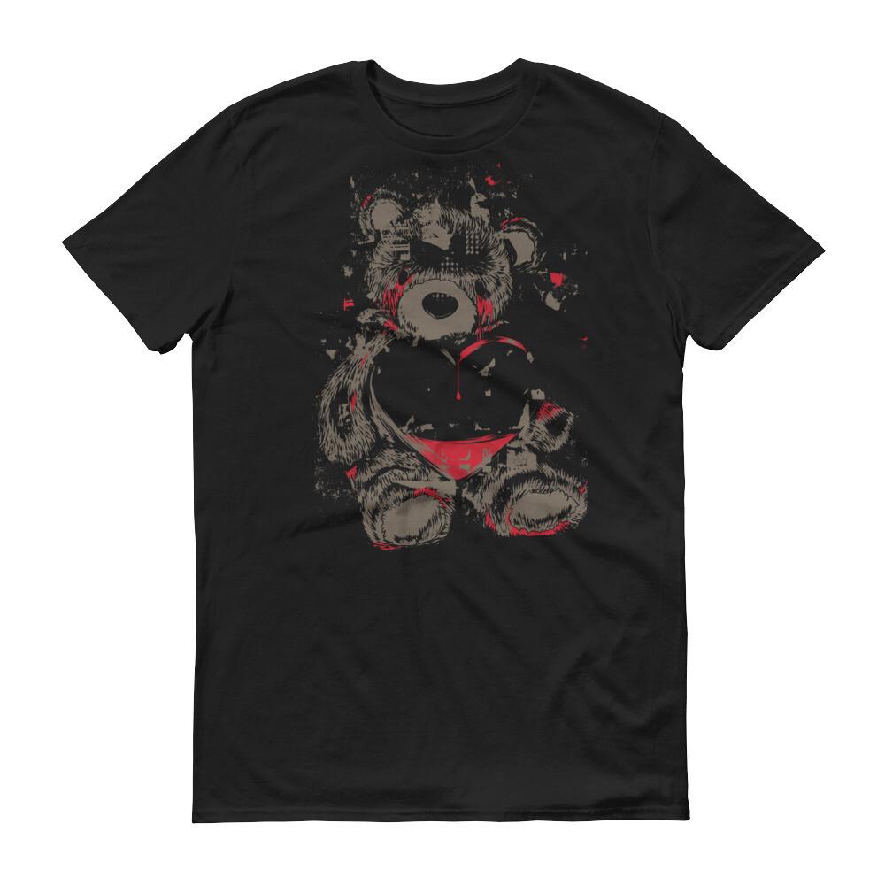 Vintage teddy heart Short-Sleeve T-Shirt