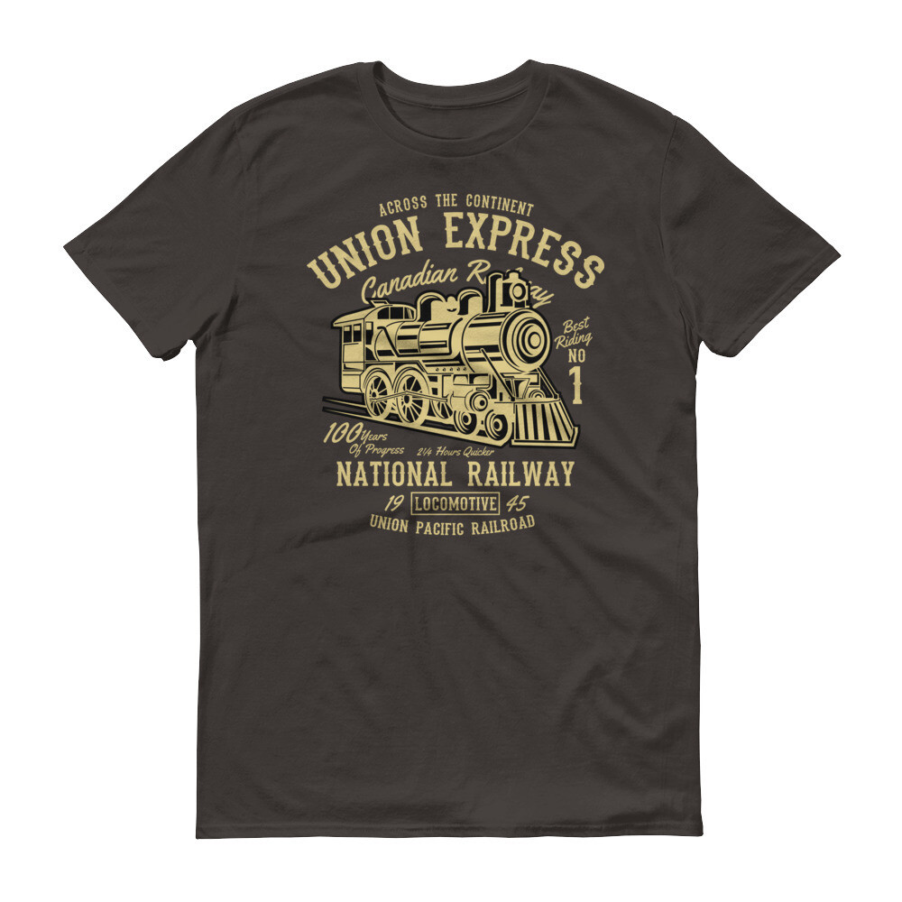 Union express train national railway Short-Sleeve T-Shirt