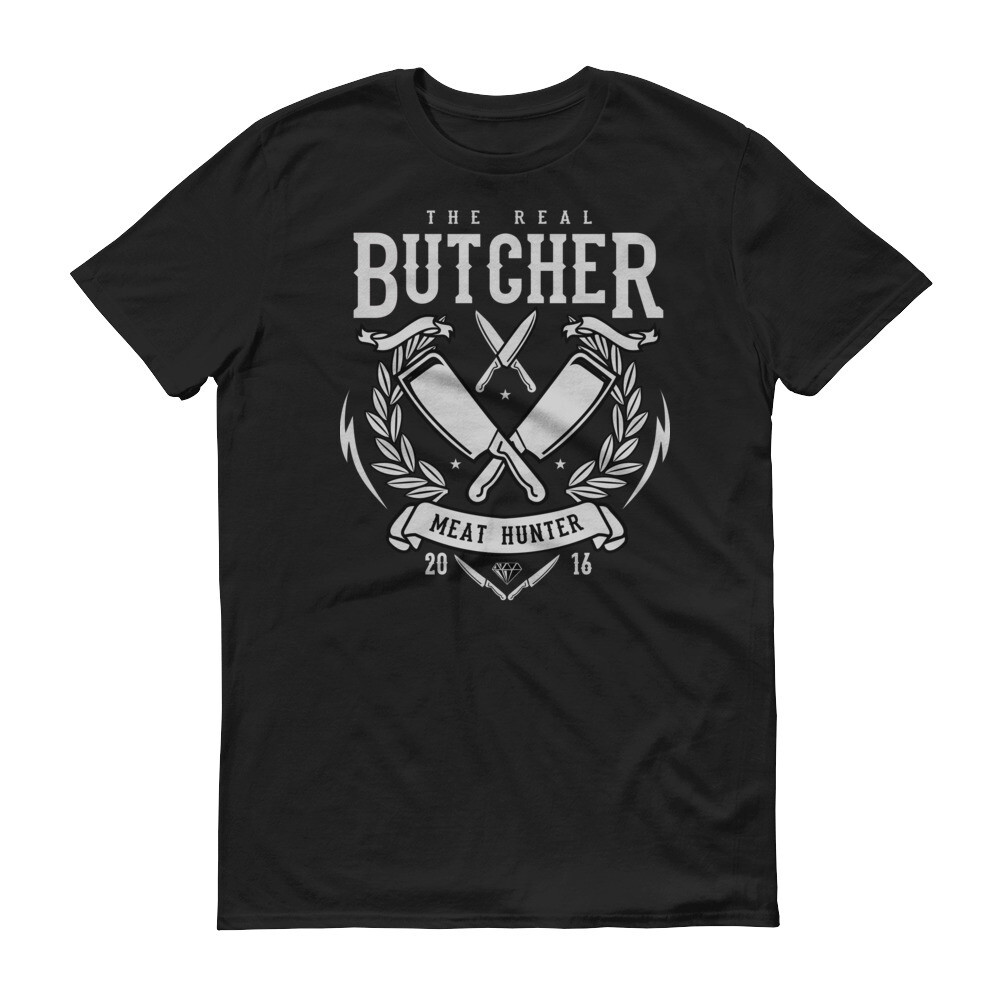 The real butcher Short-Sleeve T-Shirt