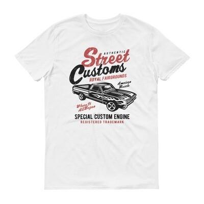 street authentic customs royal fairgrounds special custom engine car Short-Sleeve T-Shirt