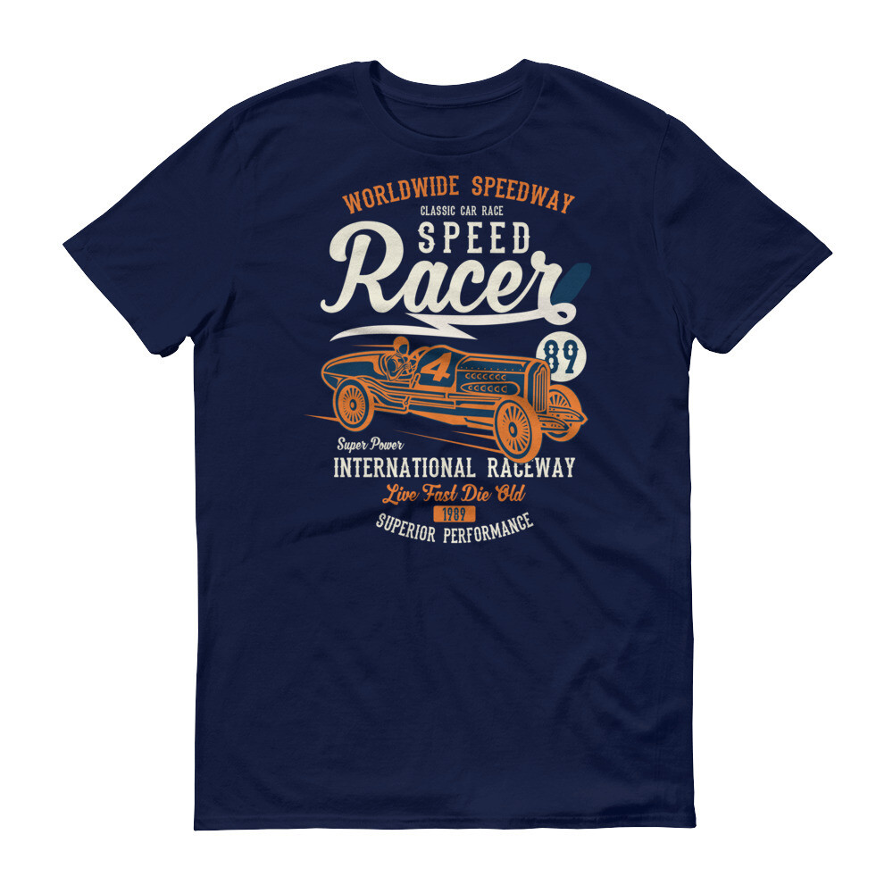 Vintage speed racer car Short-Sleeve T-Shirt