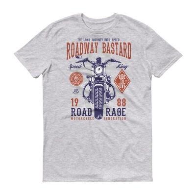 Roadway bastard Short-Sleeve T-Shirt