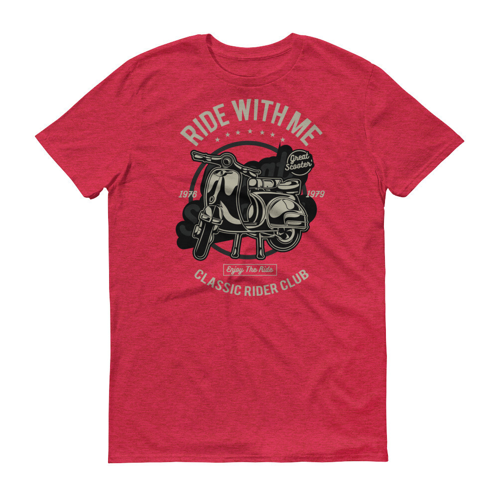 Ride with me classic rider  Short-Sleeve T-Shirt