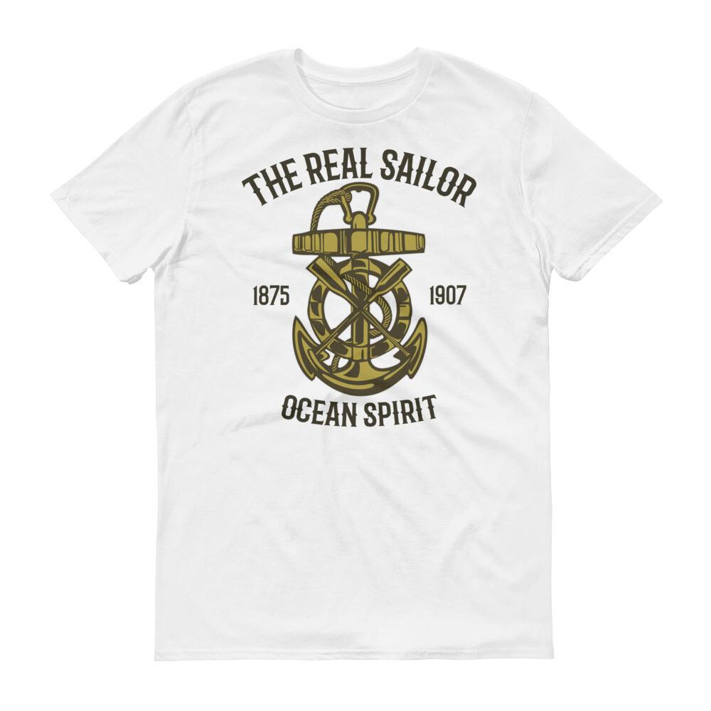The real sailor ocean spirit Short-Sleeve T-Shirt