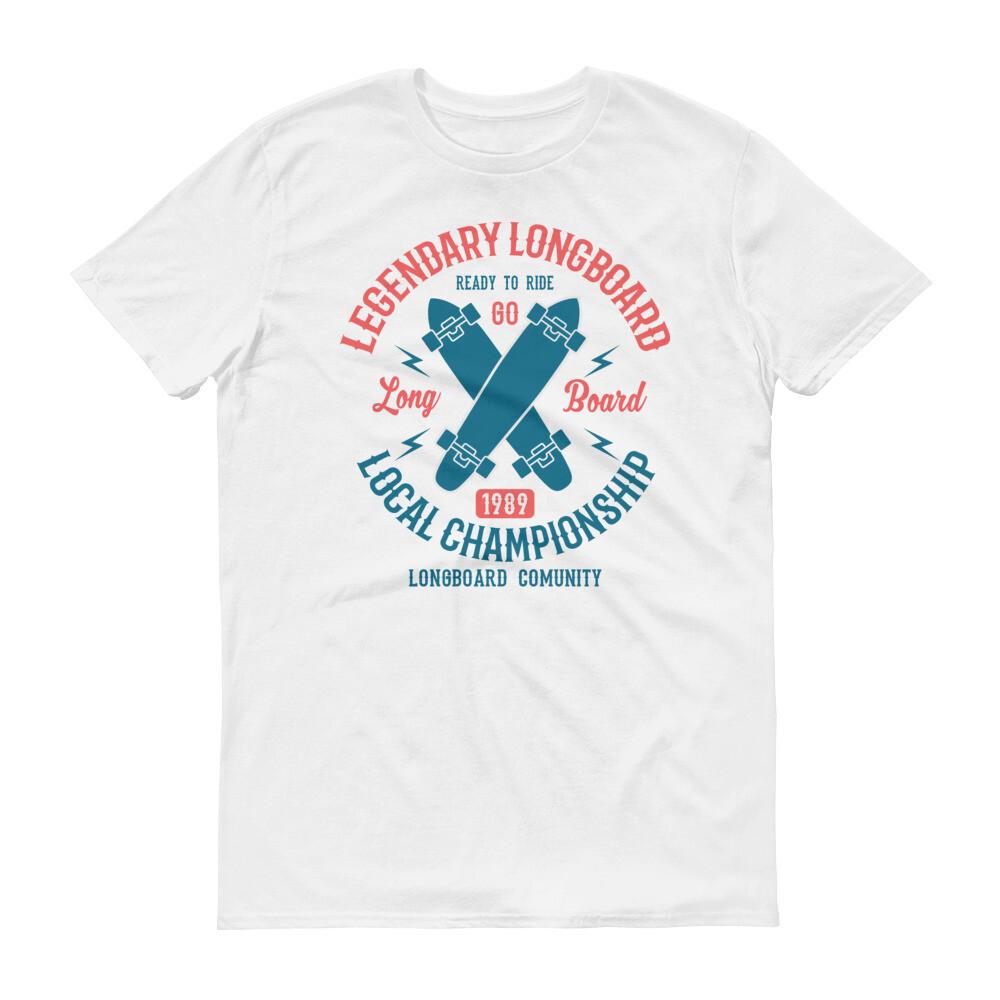 Legendary longboard local championship comunity skateboard Short-Sleeve T-Shirt