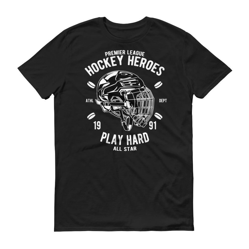 Premier league hockey heroes play hard all star Short-Sleeve T-Shirt