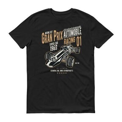 grand prix automobile racing super car  Short-Sleeve T-Shirt