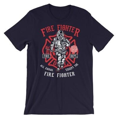 Firefighter Short-Sleeve Unisex T-Shirt