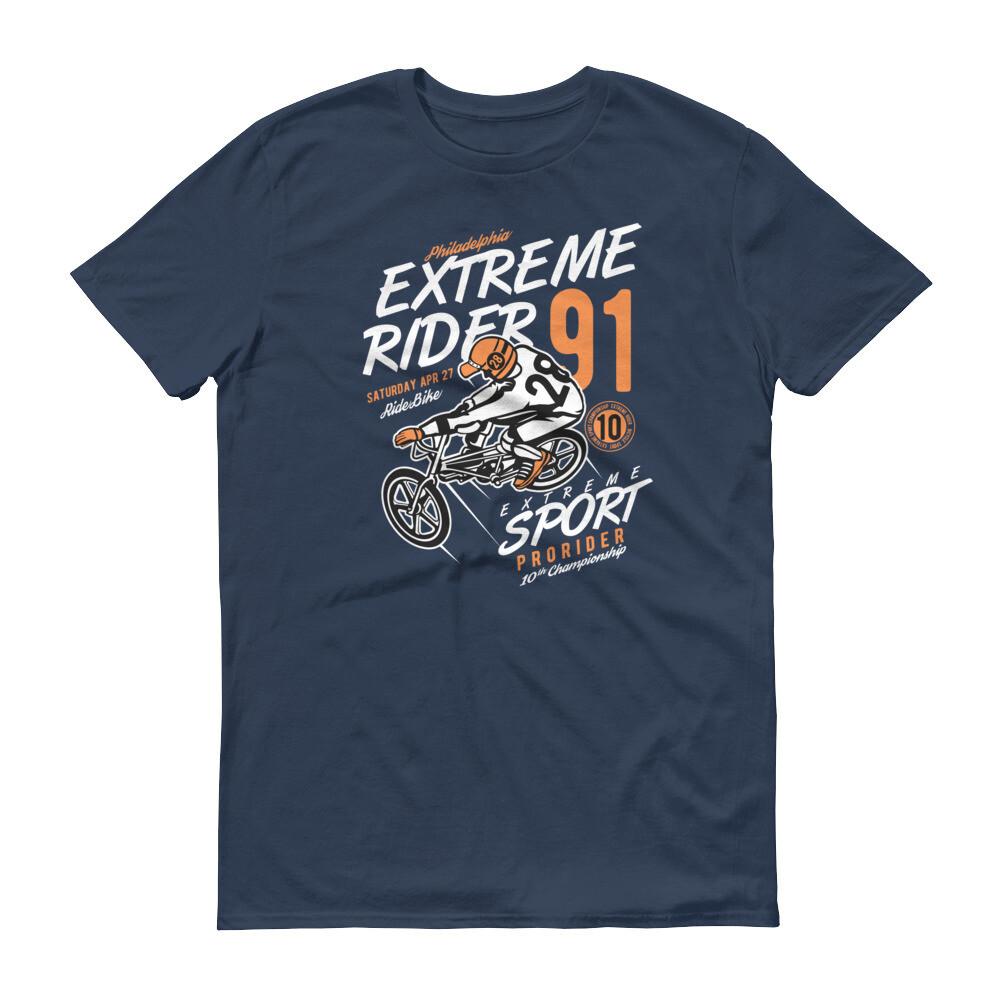 Extreme rider sport prorider motorbike Short-Sleeve T-Shirt