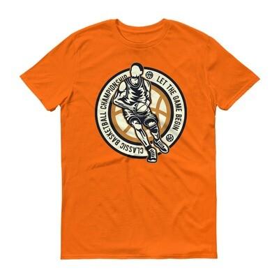 Classic baseball championship let the game begin Short-Sleeve T-Shirt