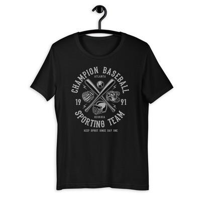 Champion baseball sport team Short-Sleeve Unisex T-Shirt