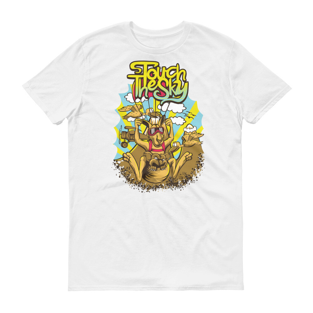 Touch the sky kangaroo cool Short-Sleeve T-Shirt