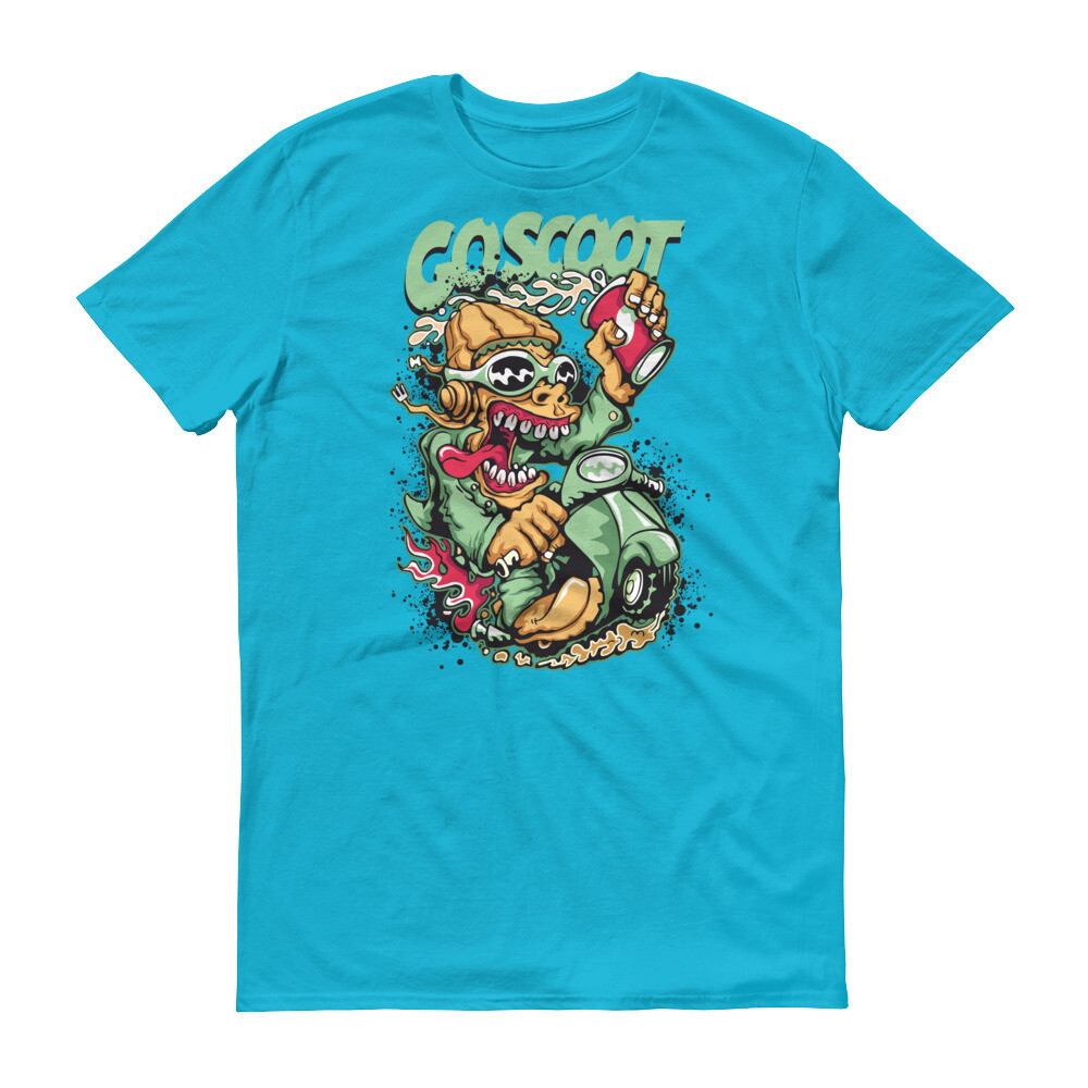 Go scoot monster Short-Sleeve T-Shirt