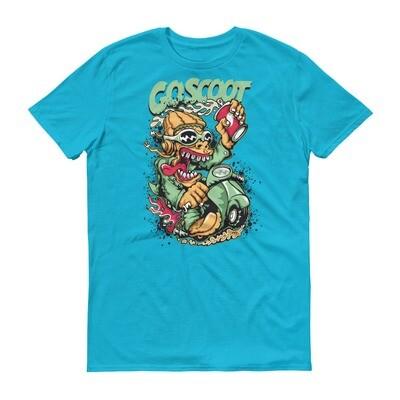 Go scoot monster Short-Sleeve T-Shirt