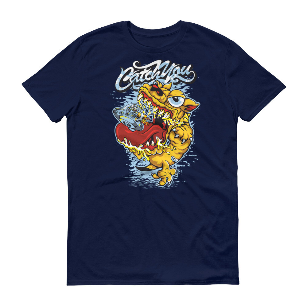 Catch you dragon art Short-Sleeve T-Shirt