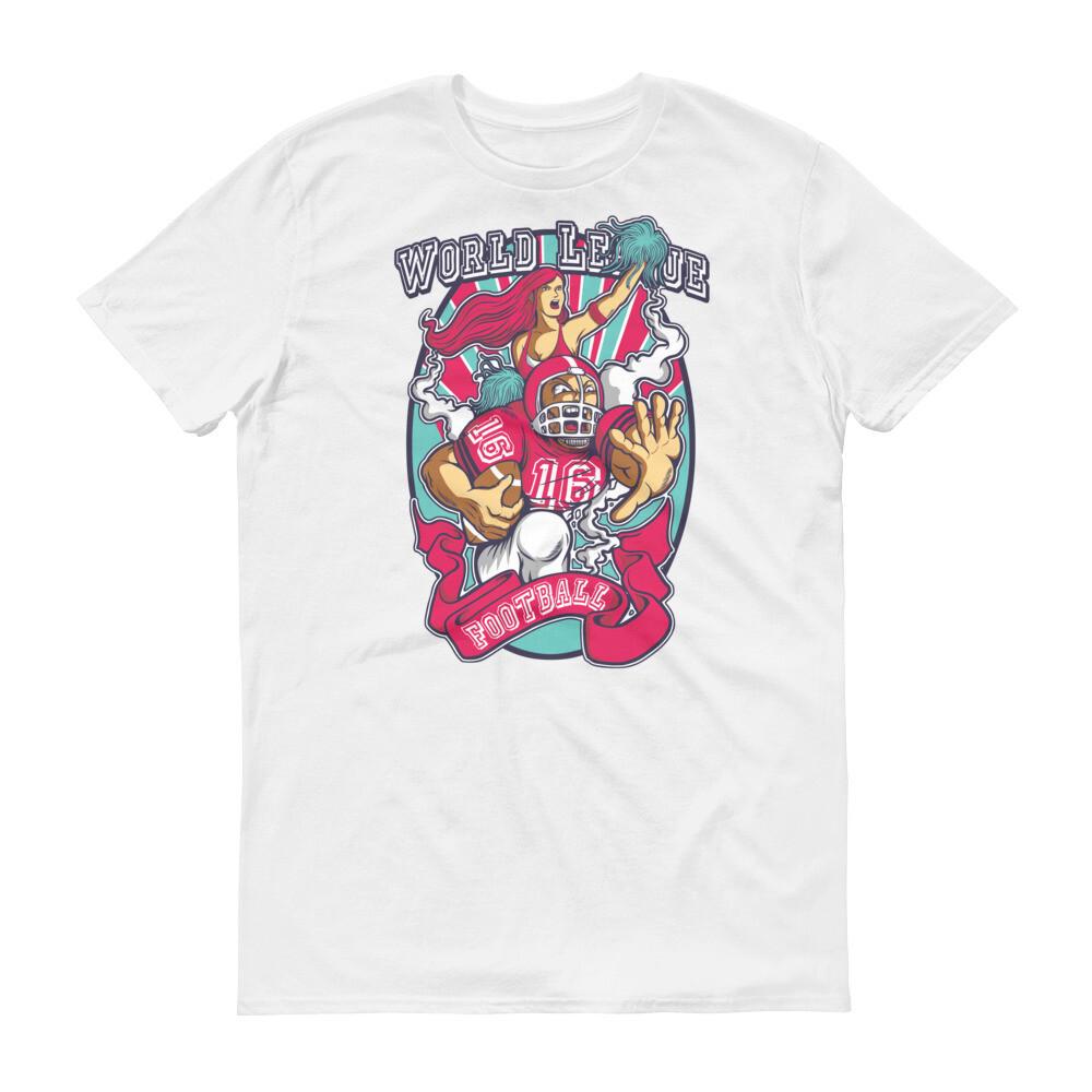 WOrld league football girl team Short-Sleeve T-Shirt