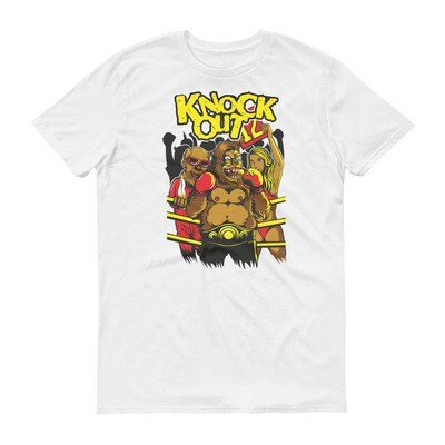 Knockout bear fighter mma boxing Short-Sleeve T-Shirt