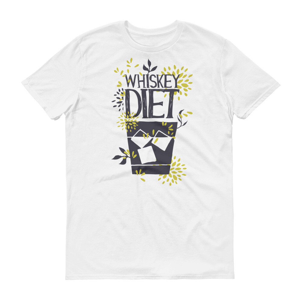 Whiskey diet coke Short-Sleeve T-Shirt