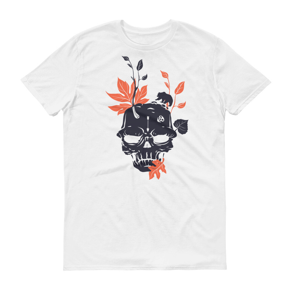 Skull leaves Short-Sleeve T-Shirt