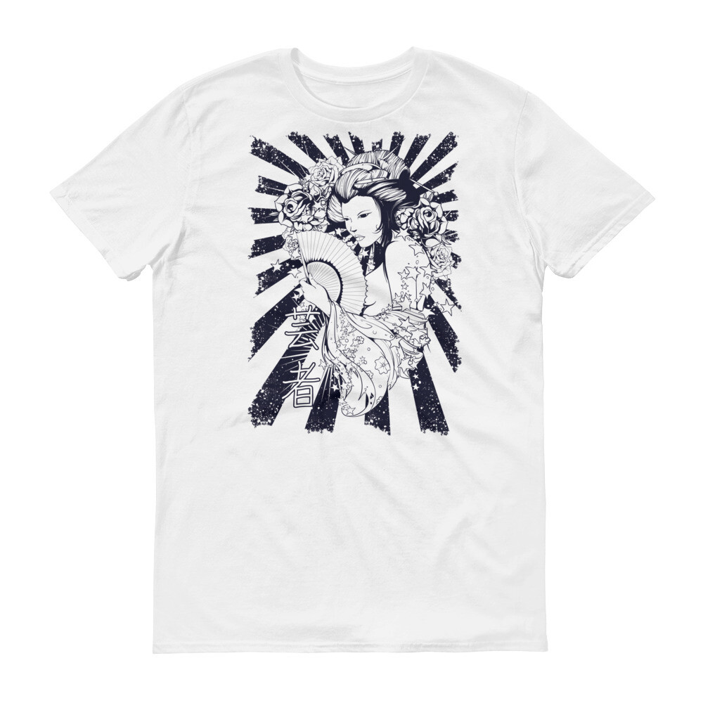 Japanese or chinese woman art Short-Sleeve T-Shirt
