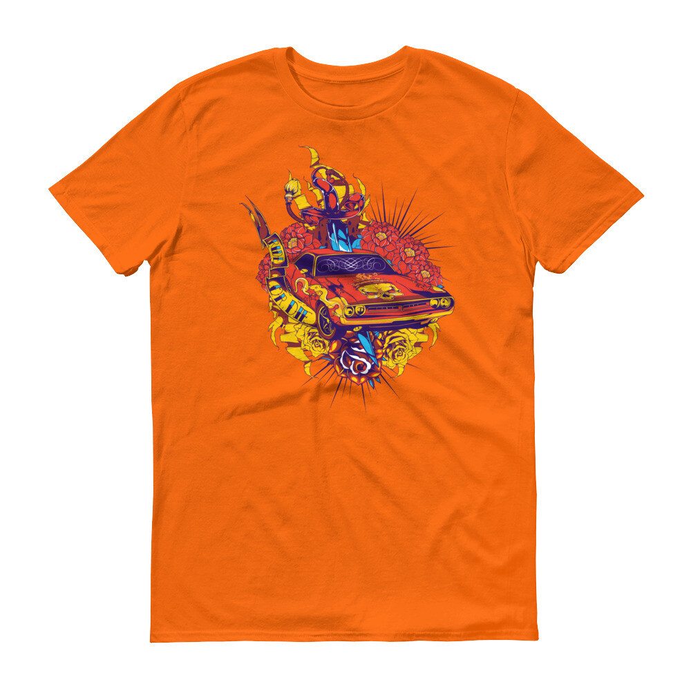 Monster snake car Short-Sleeve T-Shirt