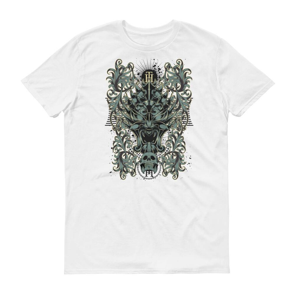 skull snake art Short-Sleeve T-Shirt
