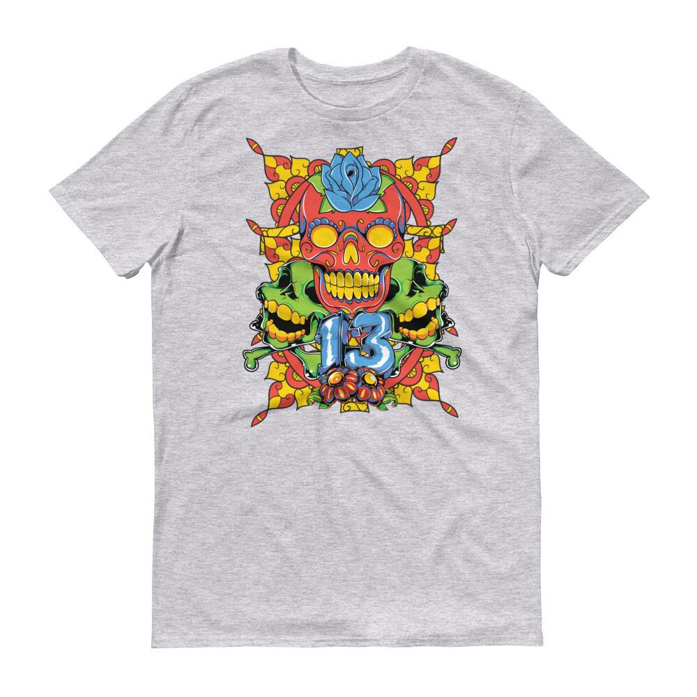 Indian skull 13 Short-Sleeve T-Shirt