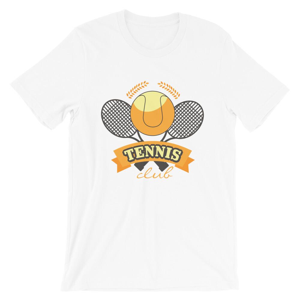 Tennis club Short-Sleeve Unisex T-Shirt