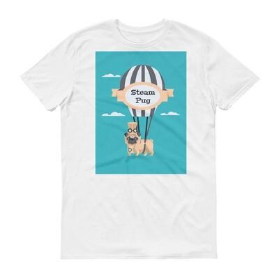 Steam pug Short-Sleeve T-Shirt