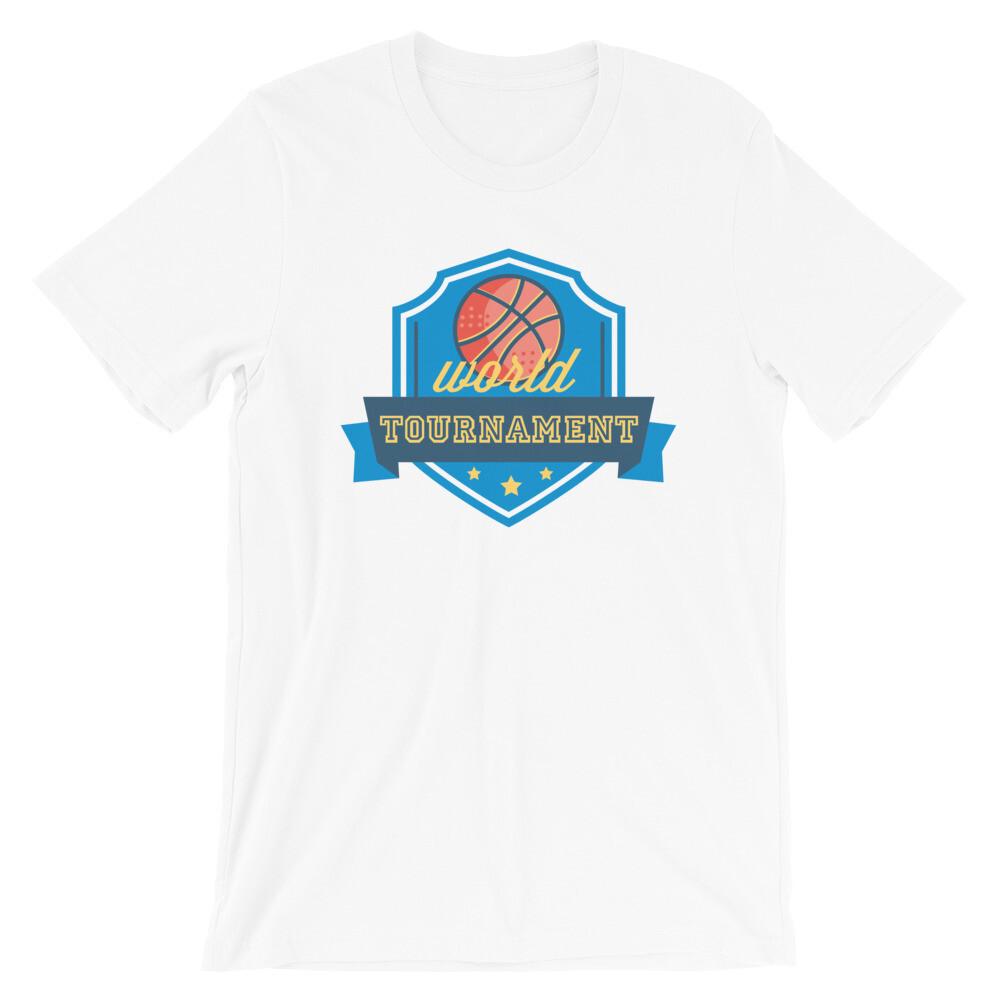 WOrld tournament baseball Short-Sleeve Unisex T-Shirt