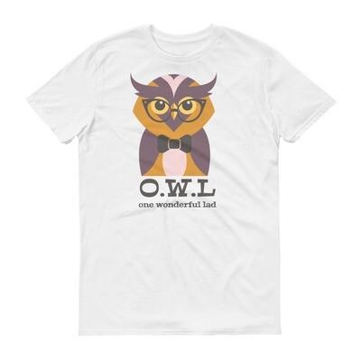 O.W.L one wonderfull lad OWL Short-Sleeve T-Shirt