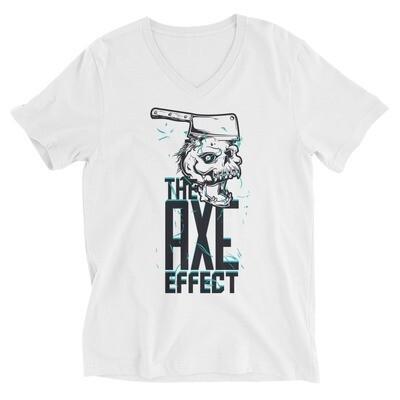 The axe effect monster Unisex Short Sleeve V-Neck T-Shirt