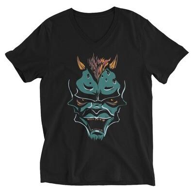 Wolf monster Unisex Short Sleeve V-Neck T-Shirt