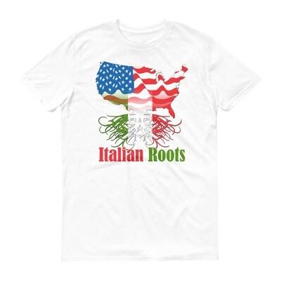 Italian roots america Short-Sleeve T-Shirt