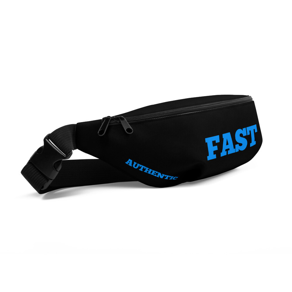 Sonic running fast authentic Fanny Pack
