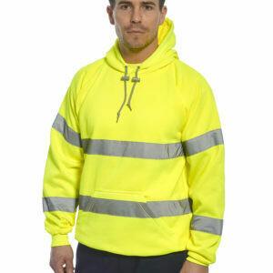 SAMPLE - Clothing - Sweatshirt - Hi-Vis Hooded Sweatshirt (PORTWEST) - Test