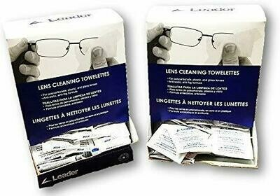 LEADER LENS CLEANING TOWELETTES 12O BOX